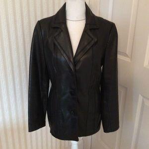 Avanti Leather Jacket Size M